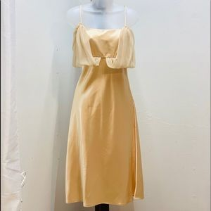 Gold Formal Dress